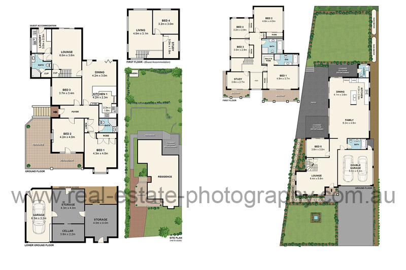 Real estate photography floor plans interior Real estate house plans